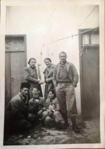 Familie Klotz in Amman in 1948