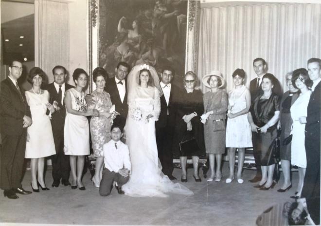 Bild im Bristol Hotel Beirut 10.10.1964
